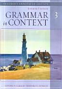 Grammar in Context 3  T G  PDF