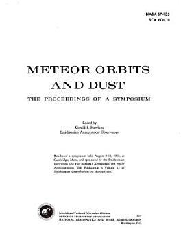 Meteor Orbits and Dust PDF