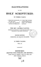 Illustrations of the holy Scriptures: Volume 2