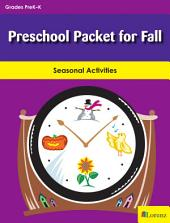 Preschool Packet for Fall: Seasonal Activities