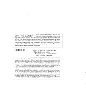 Minnesota History PDF