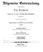 Berliner allgemeine Gartenzeitung: Band 9
