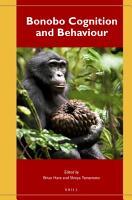 Bonobo Cognition and Behaviour PDF