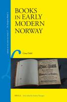 Books in Early Modern Norway PDF