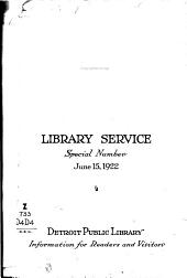 Detroit Public Library: Information for Readers and Visitors