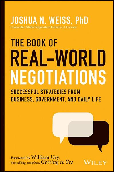 Download The Book of Real World Negotiations Book