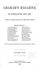Graham s American Monthly Magazine of Literature  Art  and Fashion PDF
