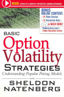 Natenberg On Option Volatility Strategies Book PDF