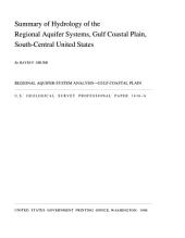 Summary of hydrology of the regional aquifer systems, Gulf coastal plain, south-central United States: Part 1