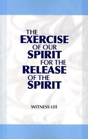 The Exercise of Our Spirit for the Release of the Spirit PDF