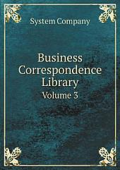 Business Correspondence Library