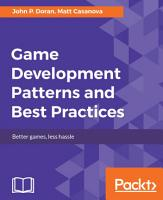 Game Development Patterns and Best Practices PDF