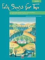 Folk Songs for Two  Any Voice Combination  PDF