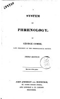 A System of Phrenology  By George Combe  Late President of the Phrenological Society PDF