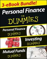 Personal Finance For Dummies Three eBook Bundle: Personal Finance For Dummies, Investing For Dummies, Mutual Funds For Dummies