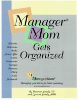 ManagerMom Gets Organized PDF