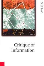 Critique of Information