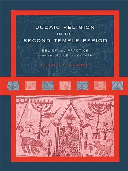 Judaic Religion in the Second Temple Period PDF
