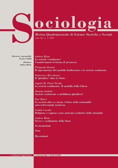 Sociologia n  1 2008 PDF