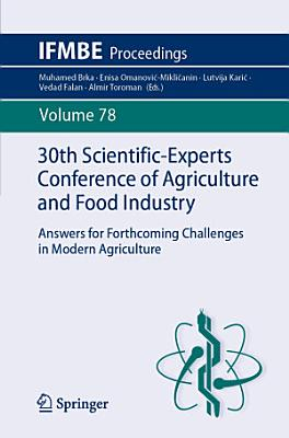 30th Scientific-Experts Conference of Agriculture and Food Industry