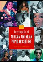 Encyclopedia of African American Popular Culture  4 volumes  PDF