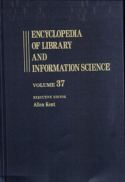 Download Encyclopedia of Library and Information Science Book