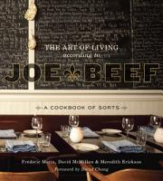 The Art of Living According to Joe Beef PDF