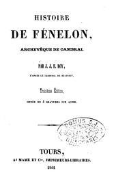 Histoire de Fénelon: archevêque de Cambrai