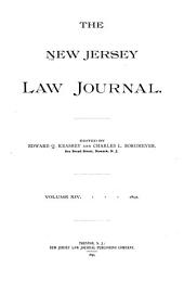 The New Jersey Law Journal: Volume 14
