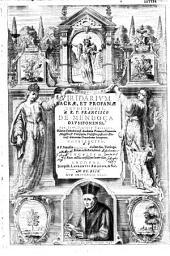 Viridarium sacrae, et profanae eruditionis, a ... Francisco de Mendoça ... constructum et a P. Francisco Machado... denuo excultum, nunc auctius tersius que lucem videt