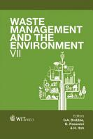 Waste Management and the Environment VII PDF