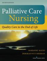 Palliative Care Nursing  Fourth Edition PDF
