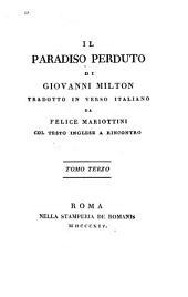 Il paradiso perduto: Volume 3