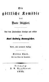 Die Göttliche komödie des Dante Alighieri: Band 3