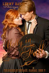 Molly in Fall (The Brides of Courage, Kansas, Book 5): A Clean Western Mail Order Bride Romance