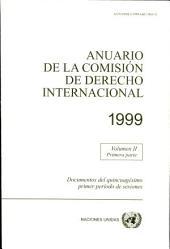 Anuario de la Comisión de Derecho Internacional 1999