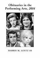 Obituaries in the Performing Arts  2014 PDF