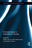 Criminal Justice in International Society PDF