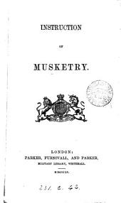 Instruction of musketry