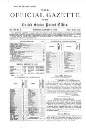 Official Gazette of the United States Patent Office: Volume 174