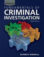 O HARA S FUNDAMENTALS OF CRIMINAL INVESTIGATION PDF