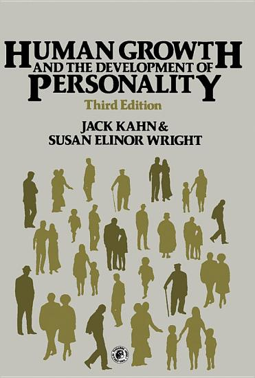 Human Growth and the Development of Personality PDF