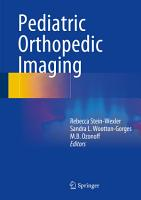 Pediatric Orthopedic Imaging PDF