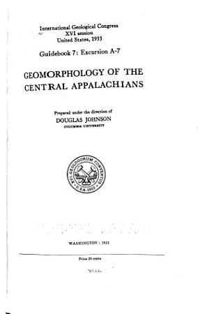 Geomorphology of the Central Appalachians PDF