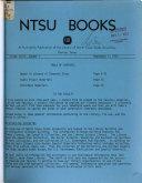 NTSU Books PDF