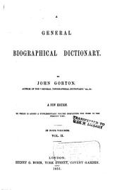 A general biographical dictionary: Volume 2