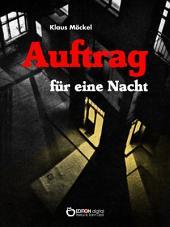 Auftrag für eine Nacht: Kriminalroman