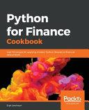 Python for Finance Cookbook