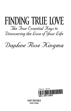 Finding True Love PDF