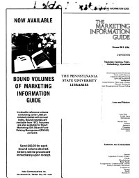 The Marketing Information Guide